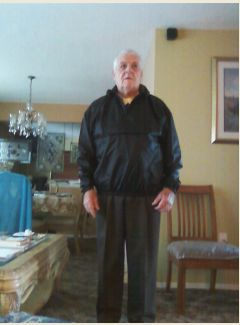 Den (Mr. Joan) in his Windbreaker