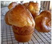 Picture of some baked Popovers