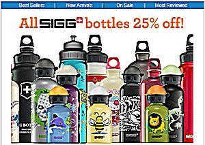 ReUseIt Sigg Bottles